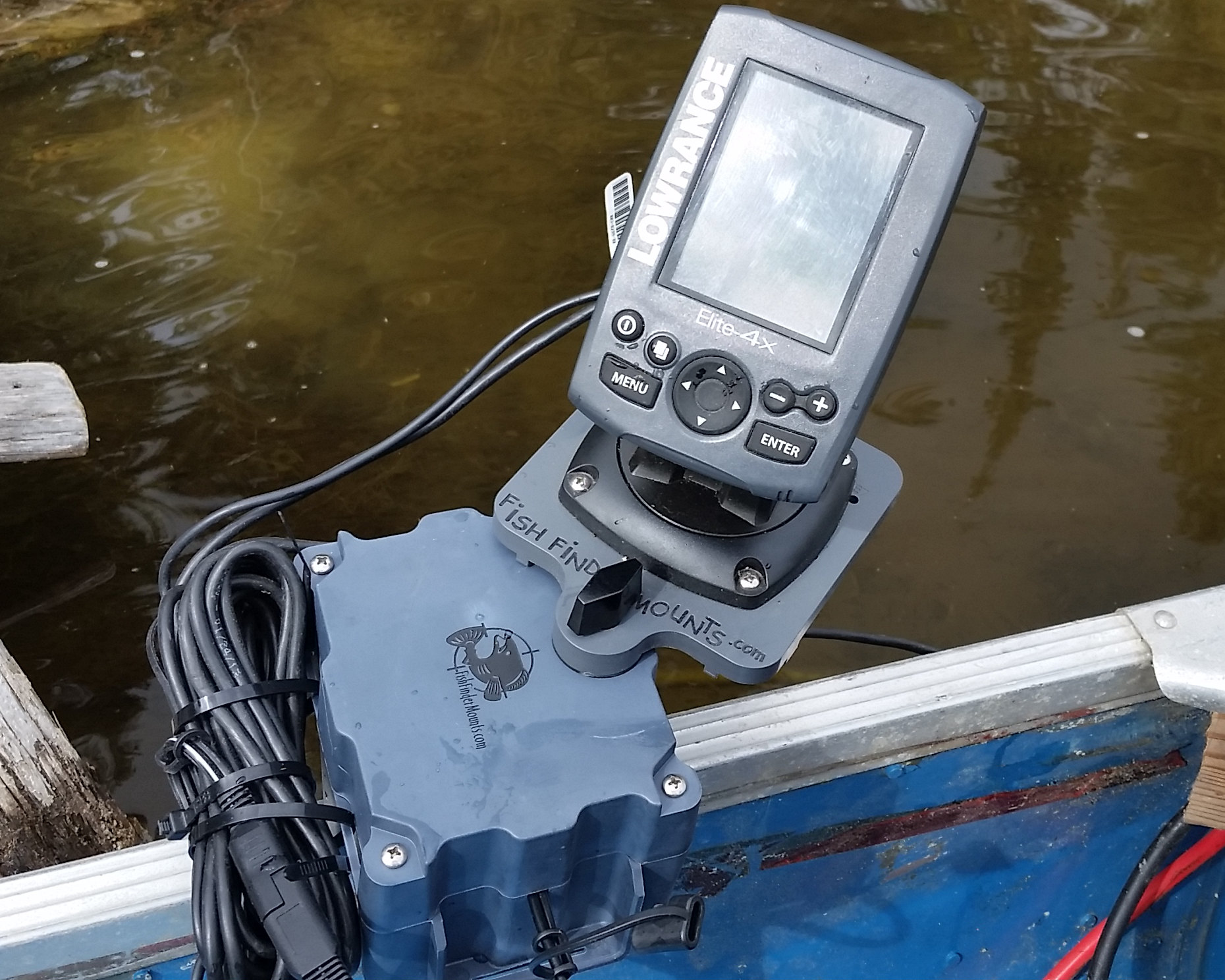 Aluminum Boat Fish Finder Mount Kit