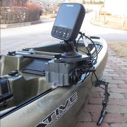 Native Slayer kayak fishfinder mount