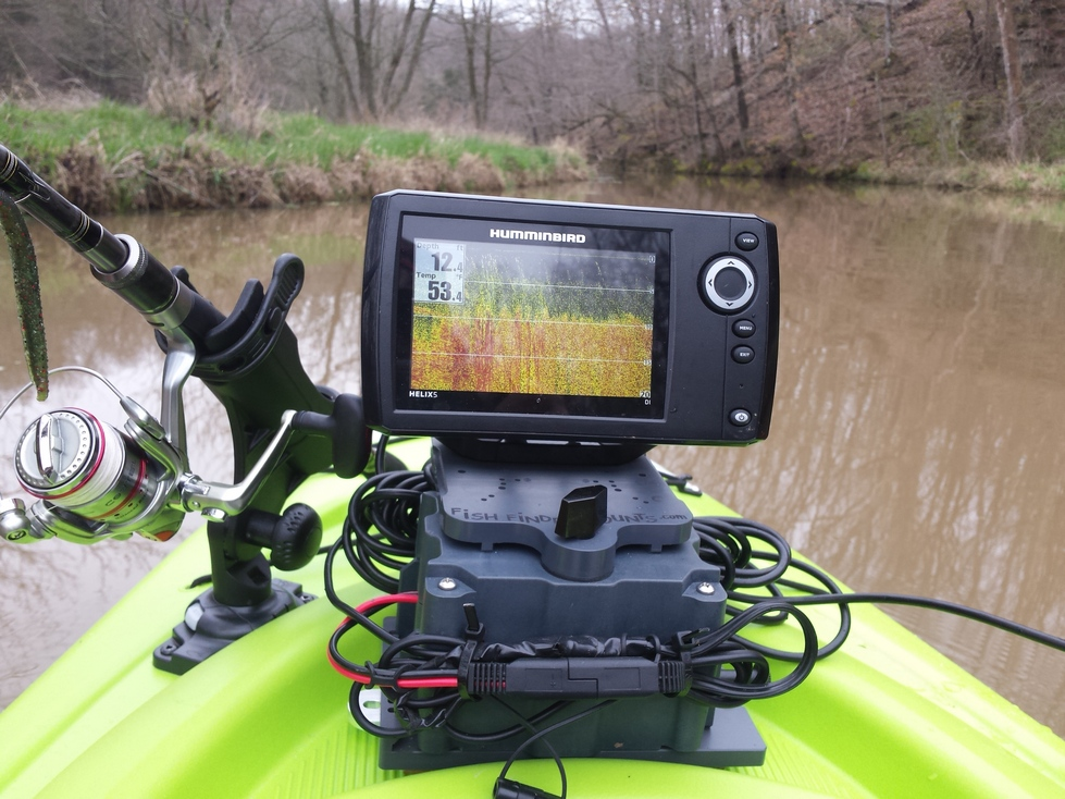 Helix 5 on Sit on Sit Inside Kayak