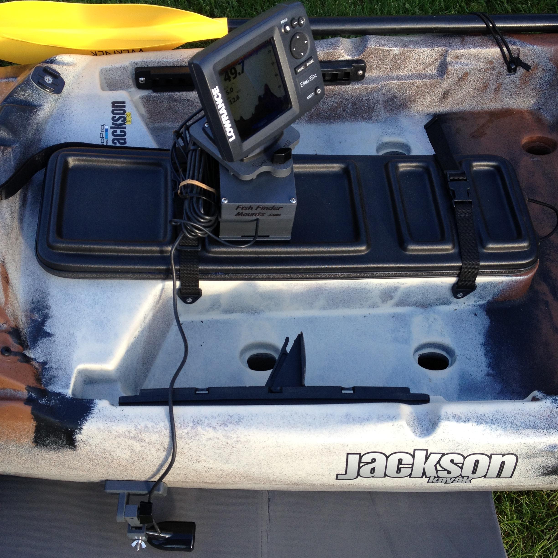 Jackson Cuda 12 Kayak with sonar