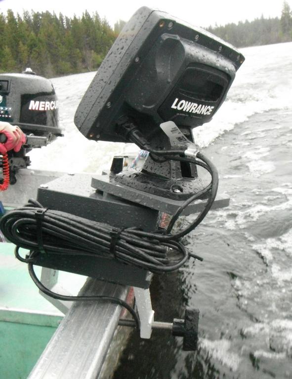 Fish Finder Mounts 5ah boat mount