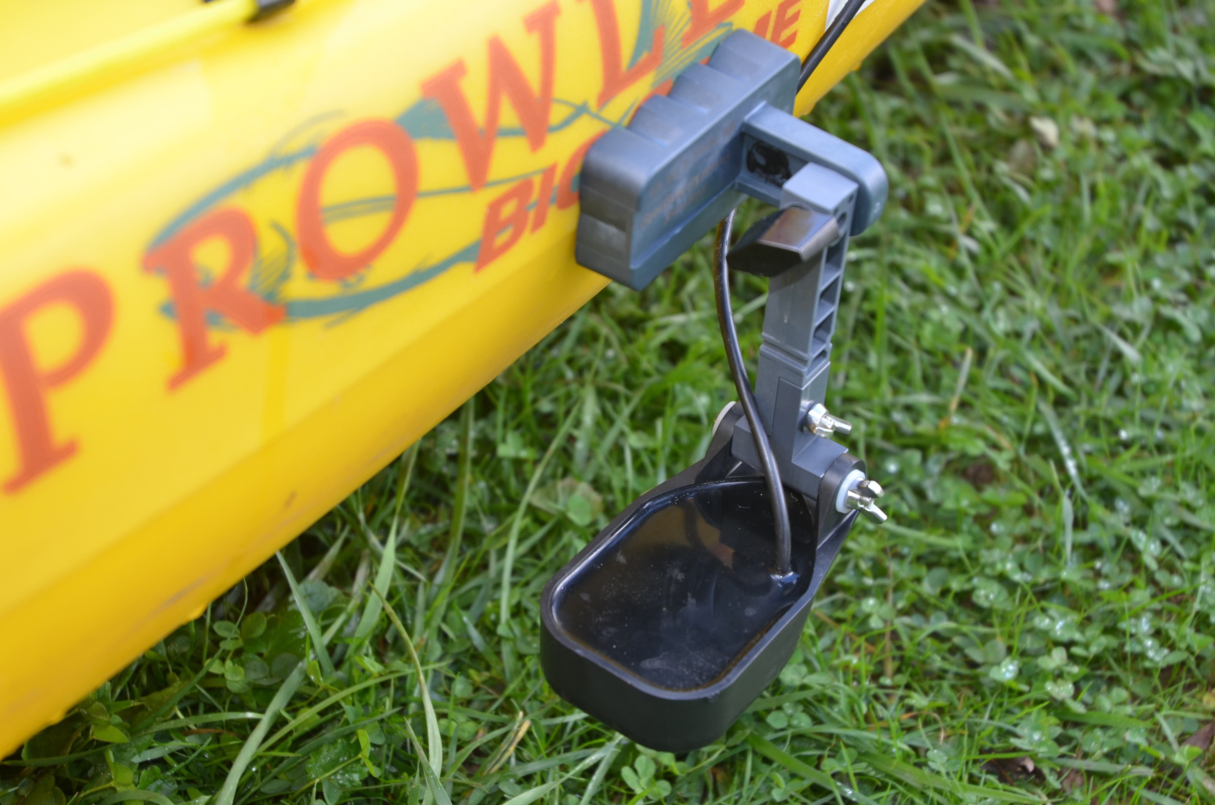 Prowler Kayak magnetic transducer