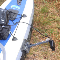 inflatable kayak transducer mount