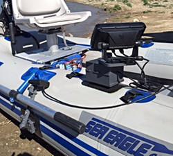 Sea Eagle 285 sounder mount