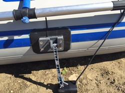 Transducer mount for Sea Eagle 285
