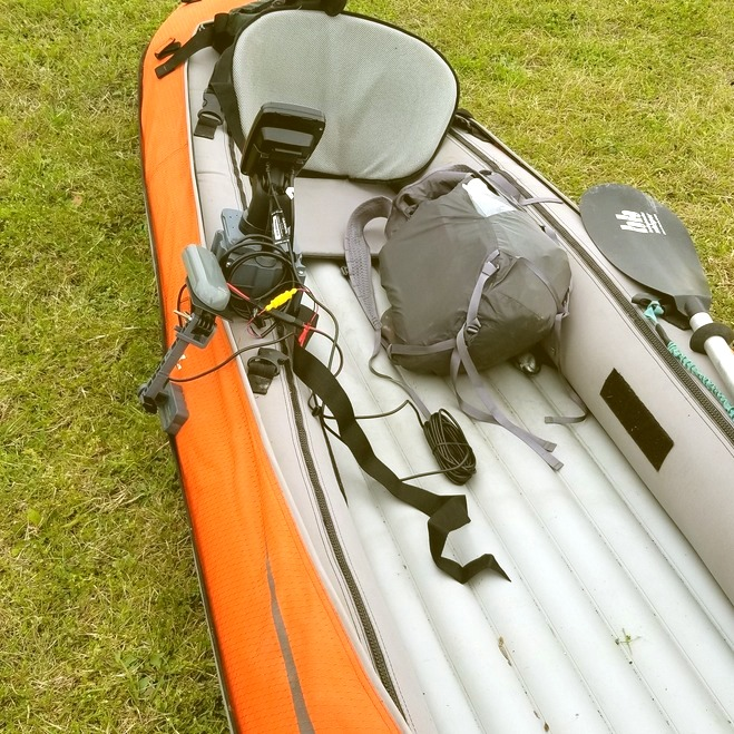 Fishfinder - Advanced Elements kayak