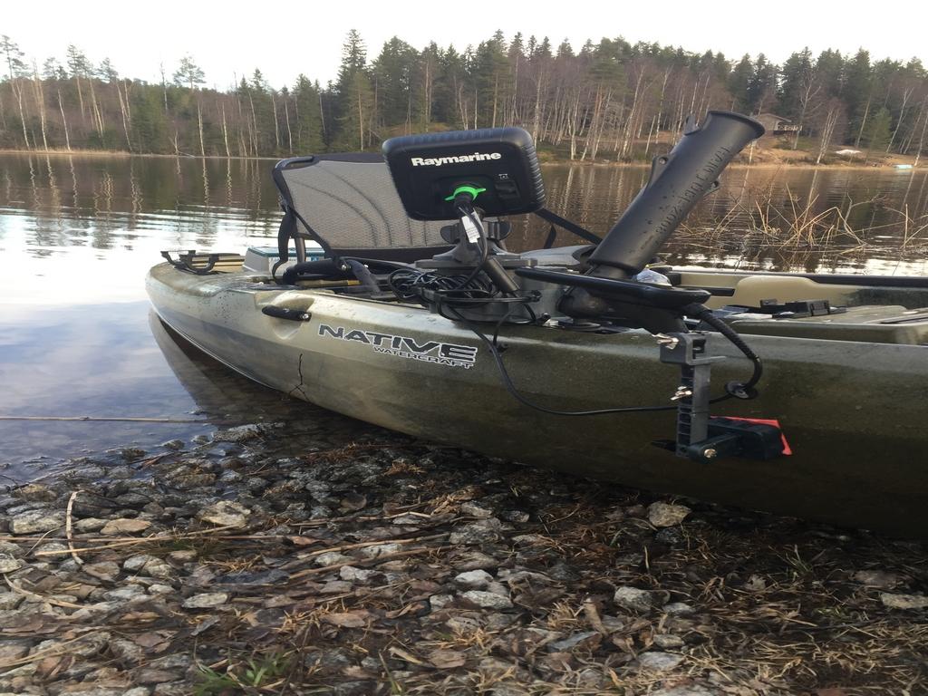 Native Propel Kayak fish finder
