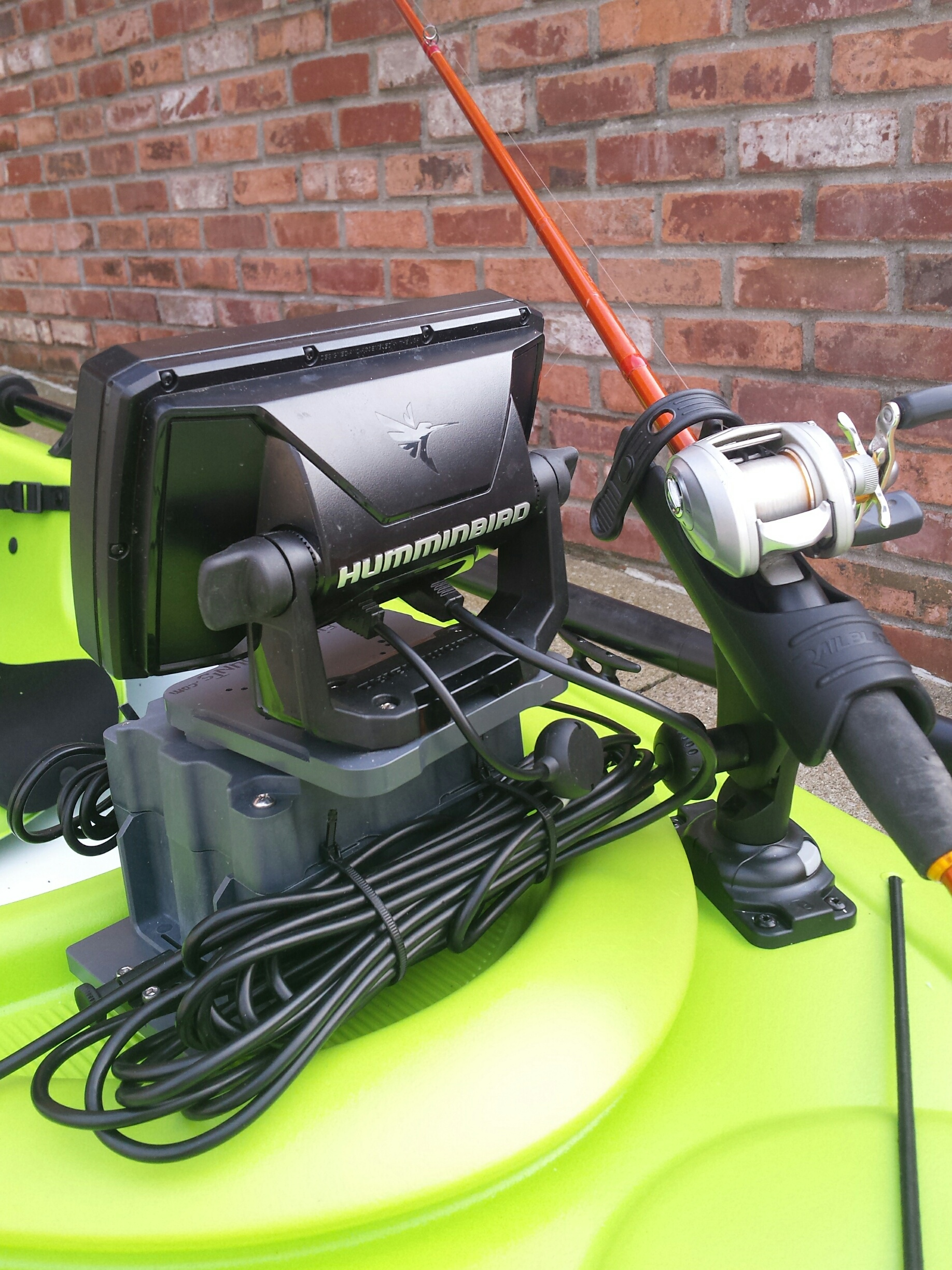 Sit Inside Kayak Fish Finder Mount