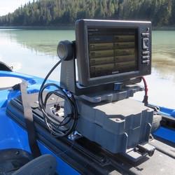 10ah Kayak Fish Finder Mount