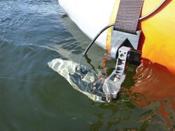 Float Tube Strap-On Transducer mount