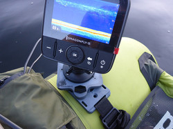 Fish Finder Mount for Belly Boats