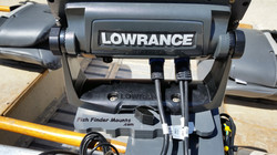 Lowrance Elite 7 portable mount