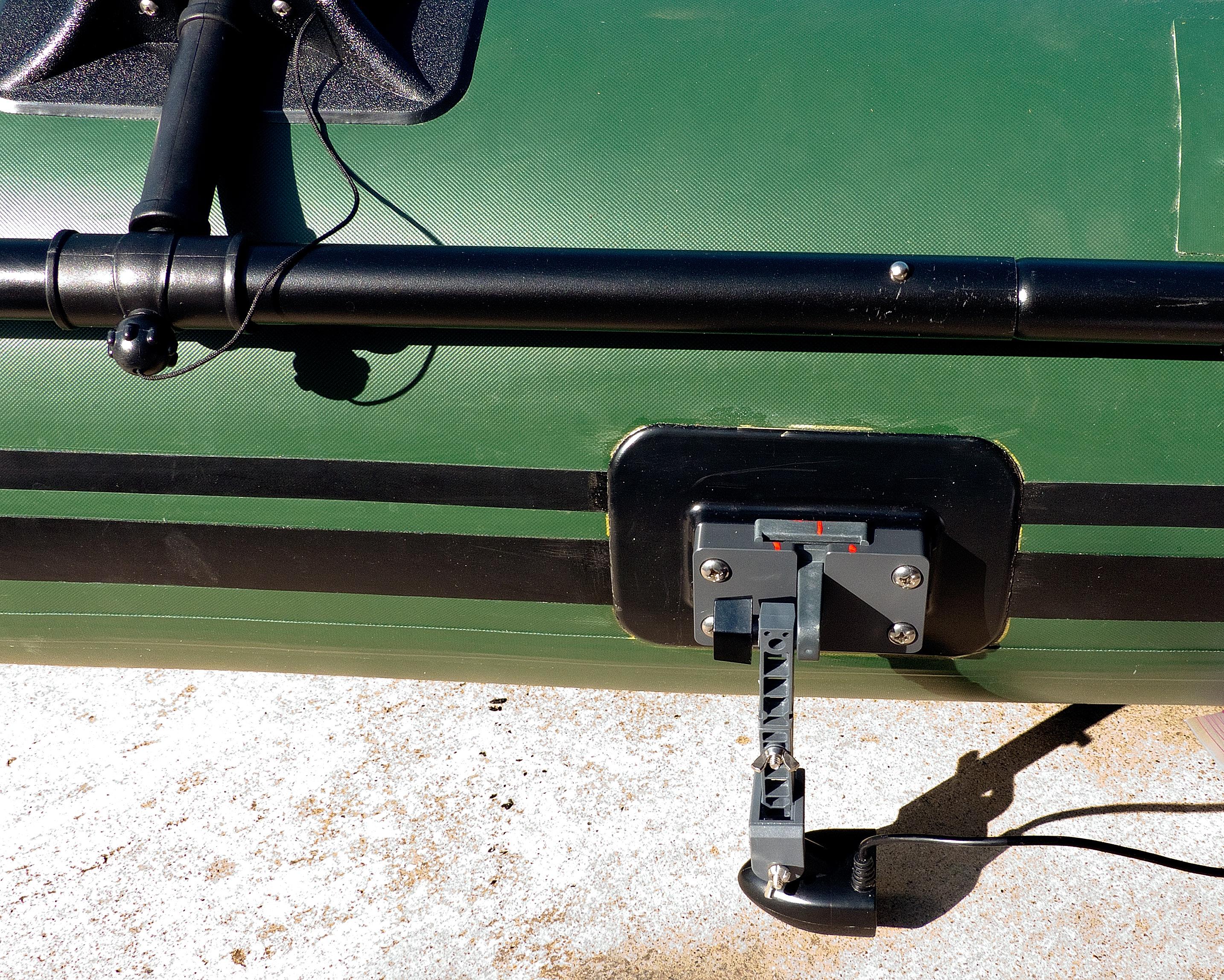 Sea Eagle 285 FPB transducer mount
