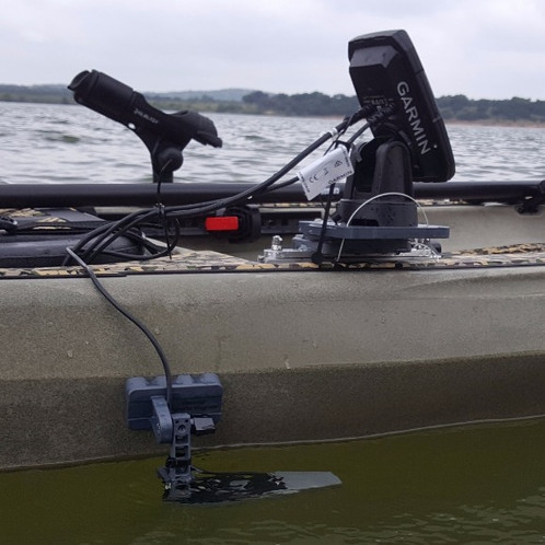 4 5 non powered kayak mount kit up to 7 screens fish for Fish finder on kayak