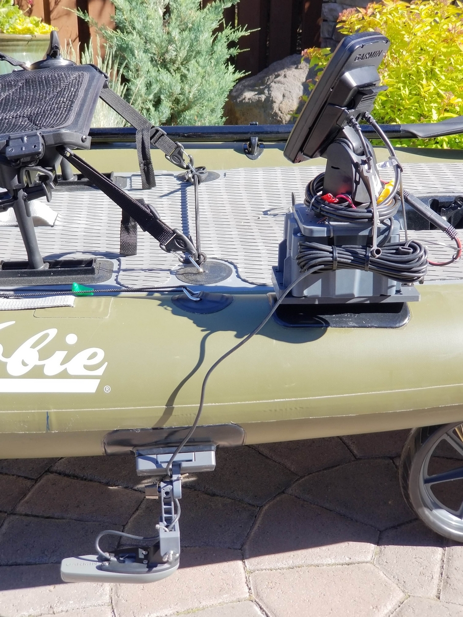 HOBIE SUP with Fish Finder