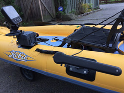 Outfit your inflatable kayak