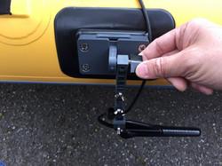 Hobie Mirage kayak transducer mount