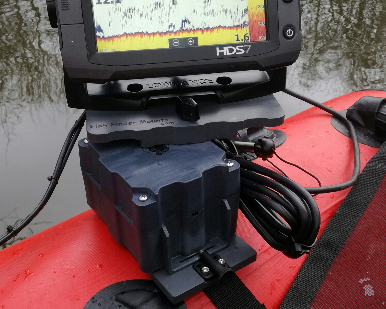Lowrance HDS7 Fish Finder Mounts