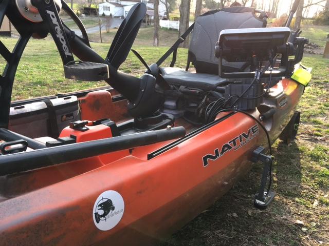 Fish Finder Mounts for Native kayaks
