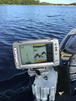 Native Slayer kayak fish finder