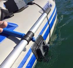 Sea Eagle 285 fish finder set up