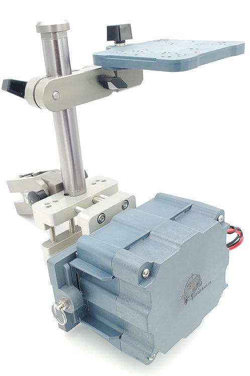 5ah Pontoon Transducer & Screen Mount