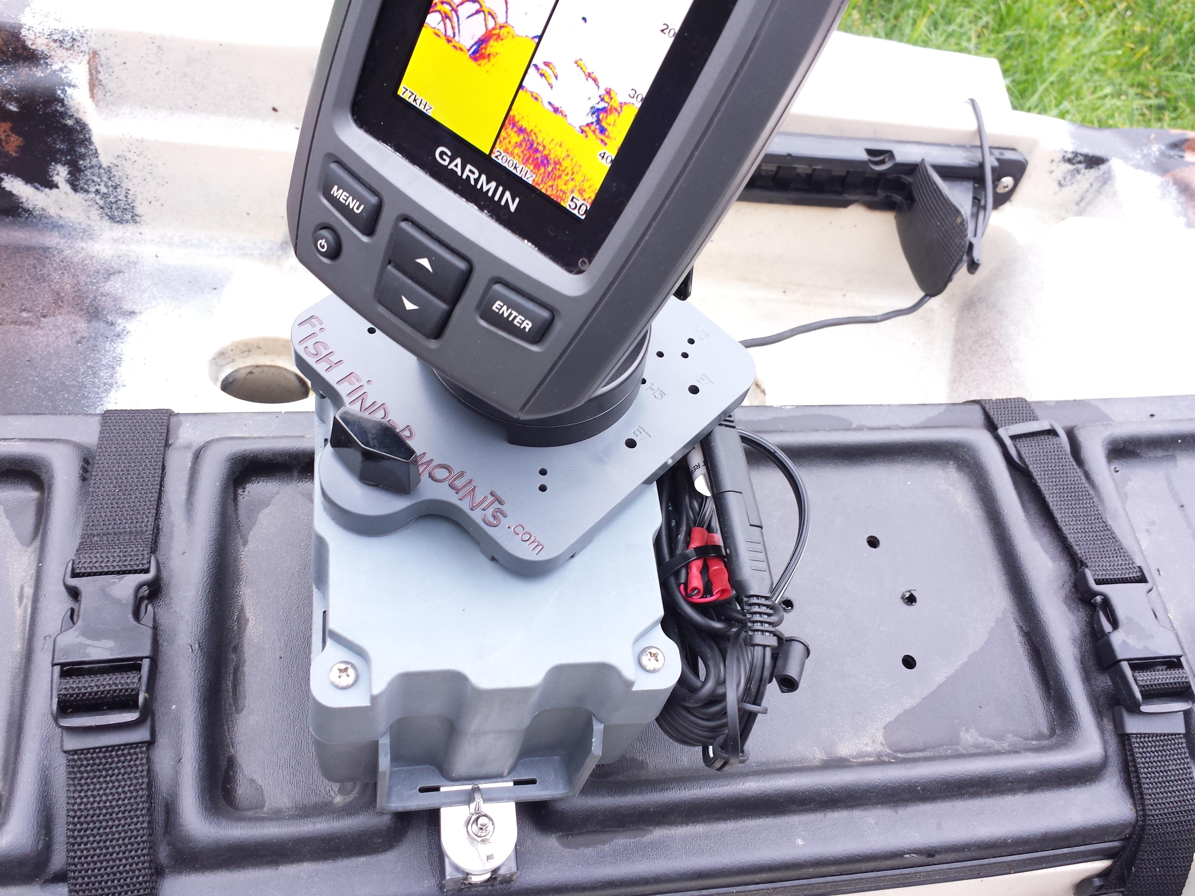 easy kayak fishfinder installation