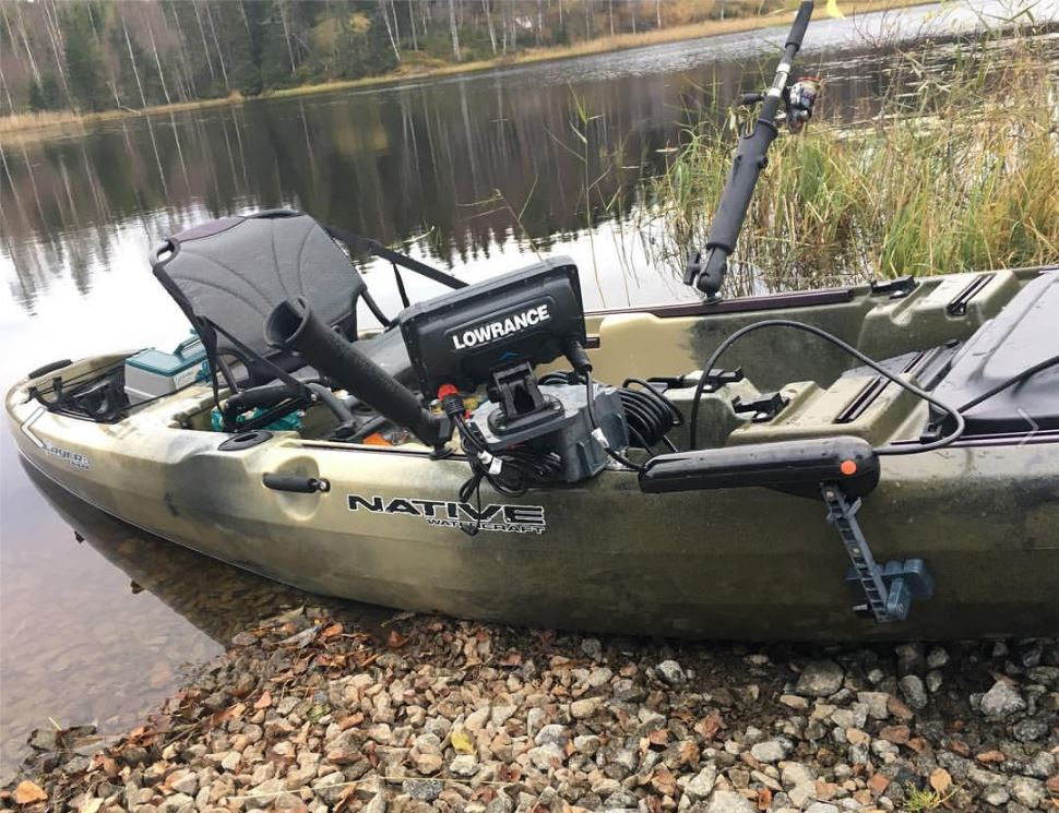 Fish Finder Mounts .com Native kayak