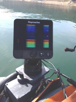 Raymarine Dragonfly 5 sonar mount