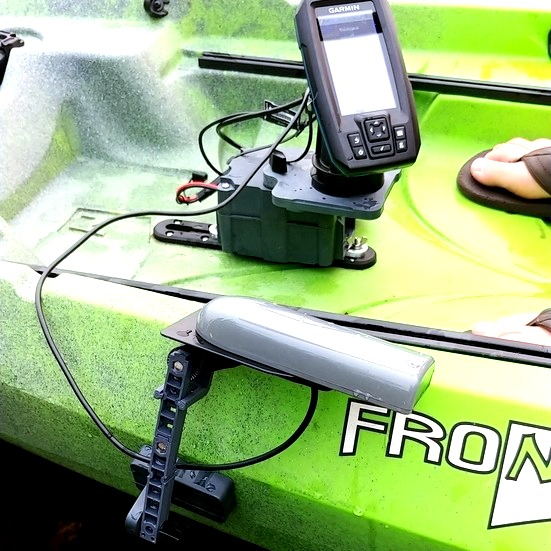 Fish Finder Mount for NuCanoe kayaks
