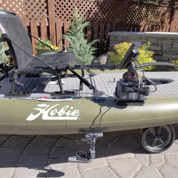 Put a fish finder on your SUP board