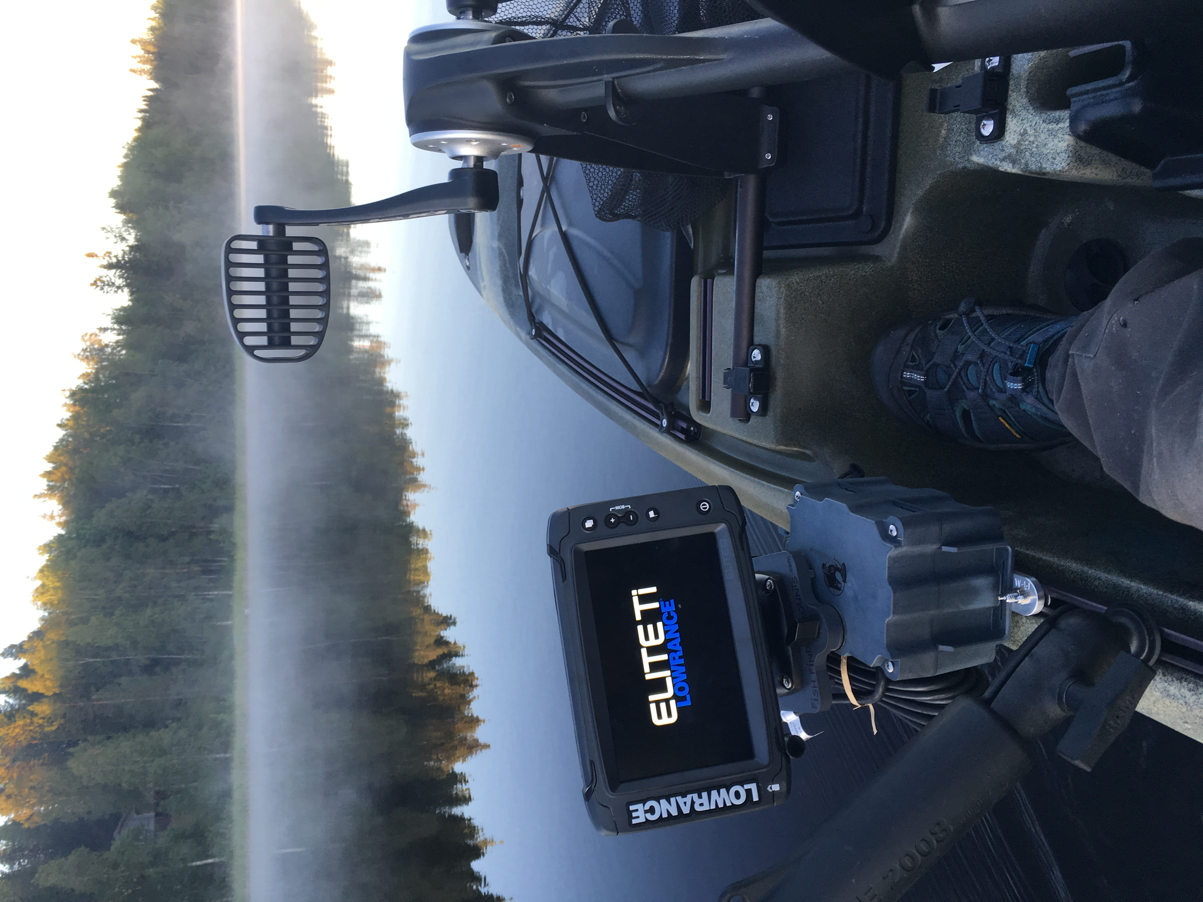 Lowrance Elite 7TI for Native Kayak