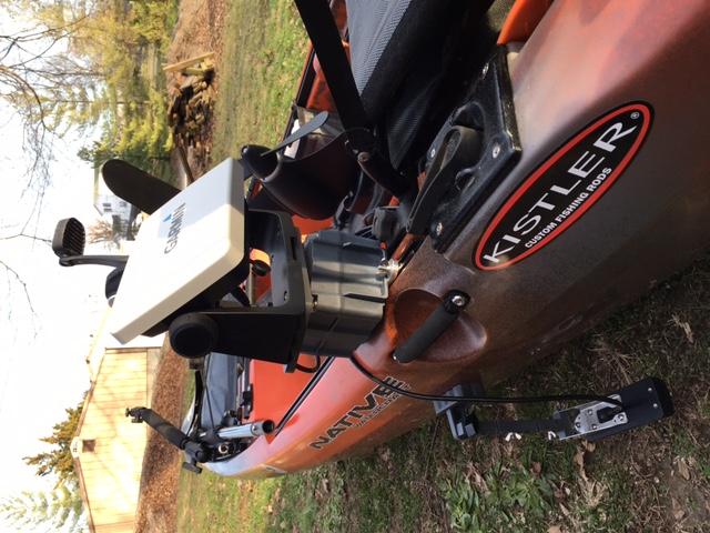 Garmin Striker 7 on Native Kayak