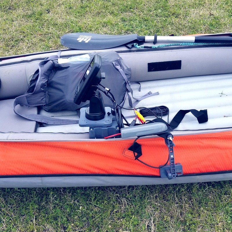 Fish Finder for Inflatable Kayak
