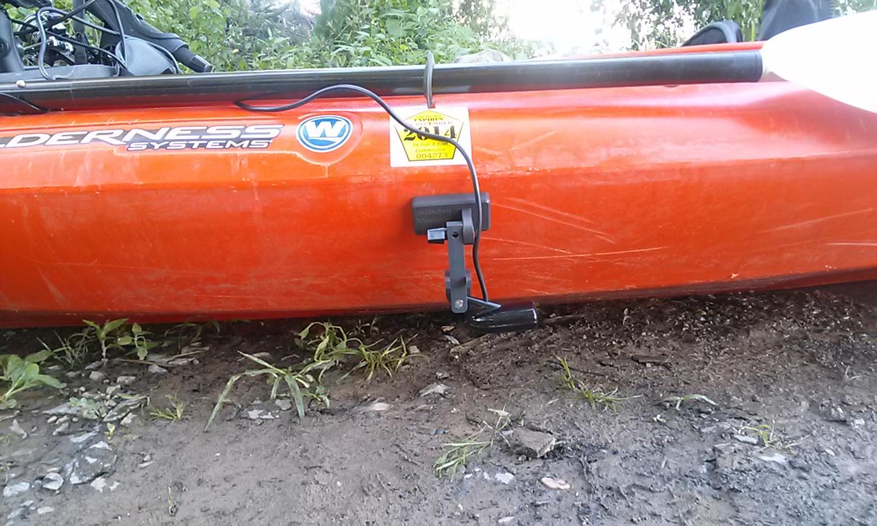Wilderness Systems sit-in kayak