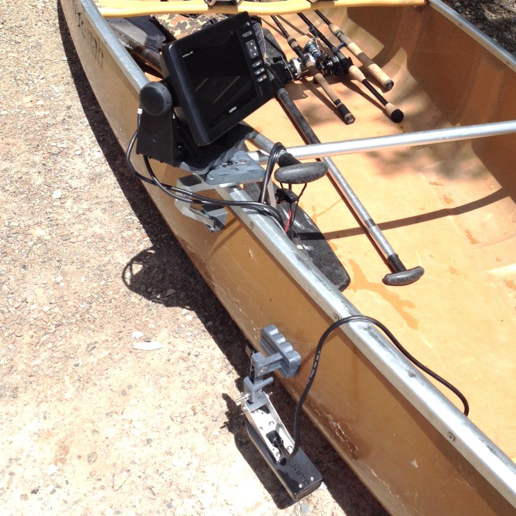 Garmin 73SV on Canoe