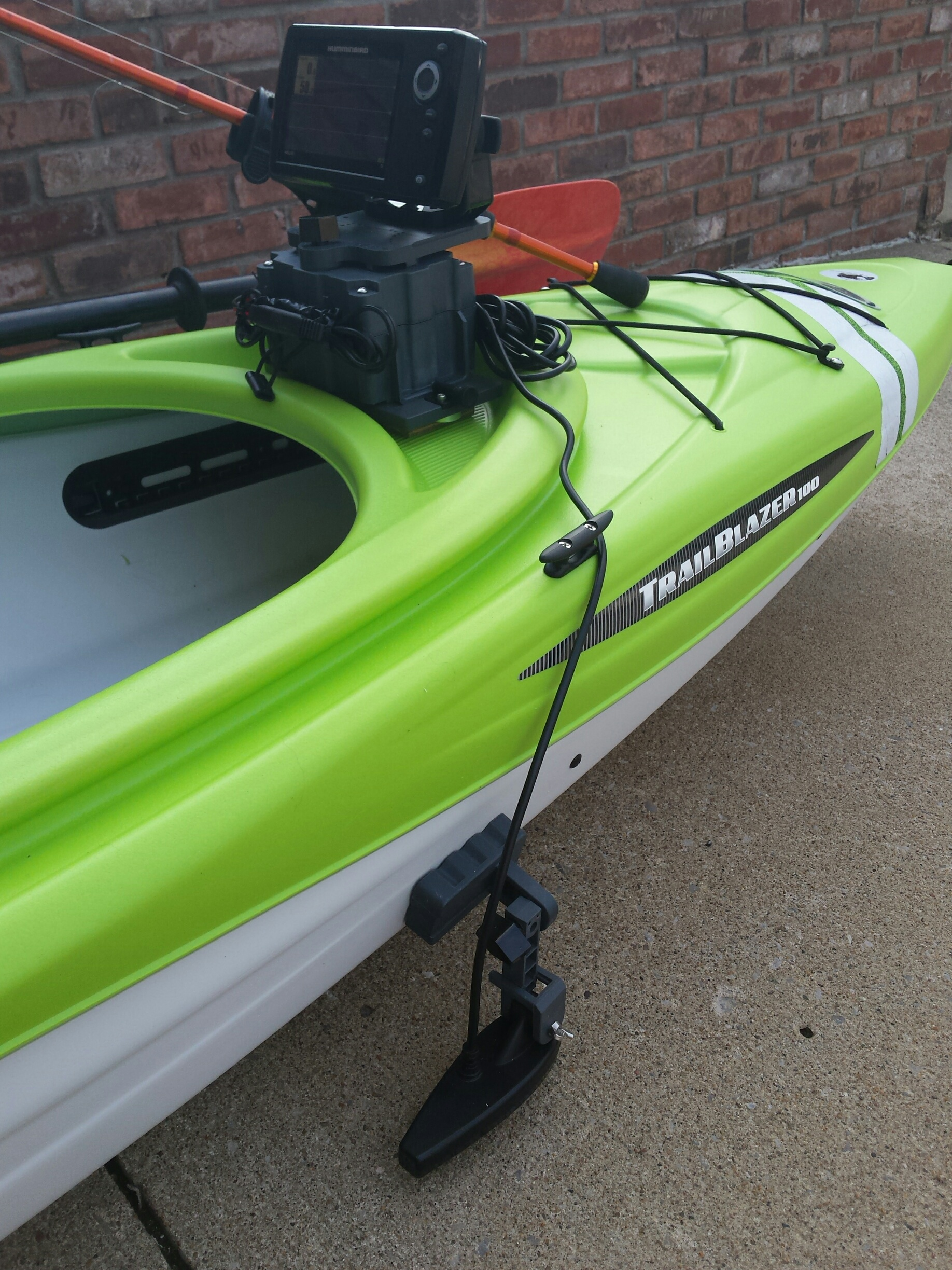 Fish Finder Mount for Sit-In Kayak