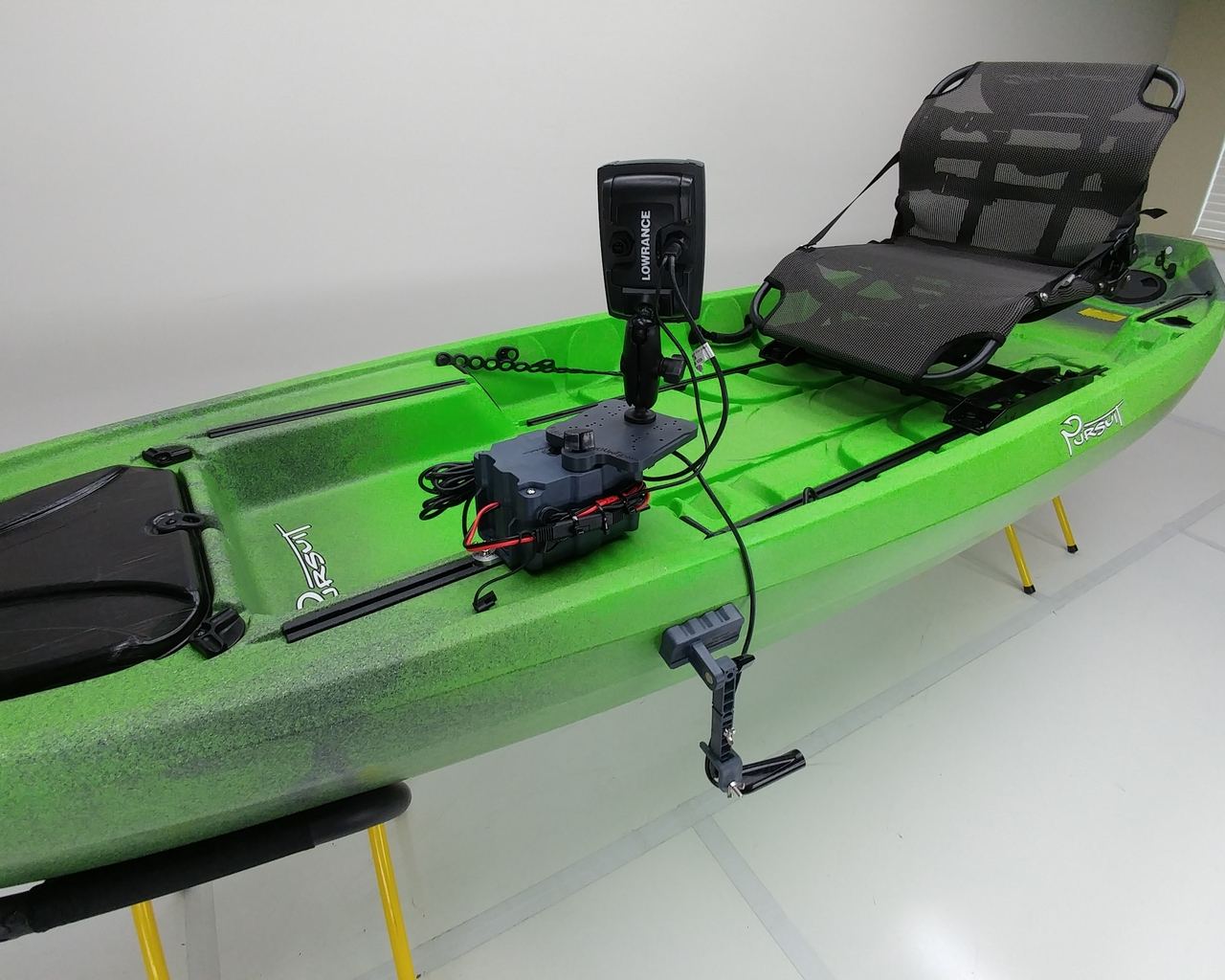 NuCanoe Fish Finder Mount
