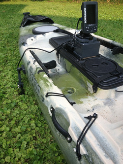 Jackson kayak fishfinder setup