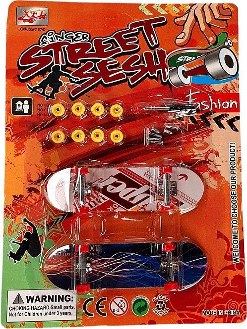 Vinger skate boards 2 sets van 2 stuks