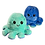 Thumbnail: Octopus emotie knuffel - Groen/Blauw