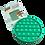 Thumbnail: Poppit Pop Bubbel Fidget Toy - Rond Kleur Groen