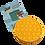 Thumbnail: Poppit Pop Bubbel Fidget Toy - Rond Kleur Geel