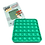 Thumbnail: Poppit Pop Bubbel Fidget Toy - Vierkant Kleur Groen
