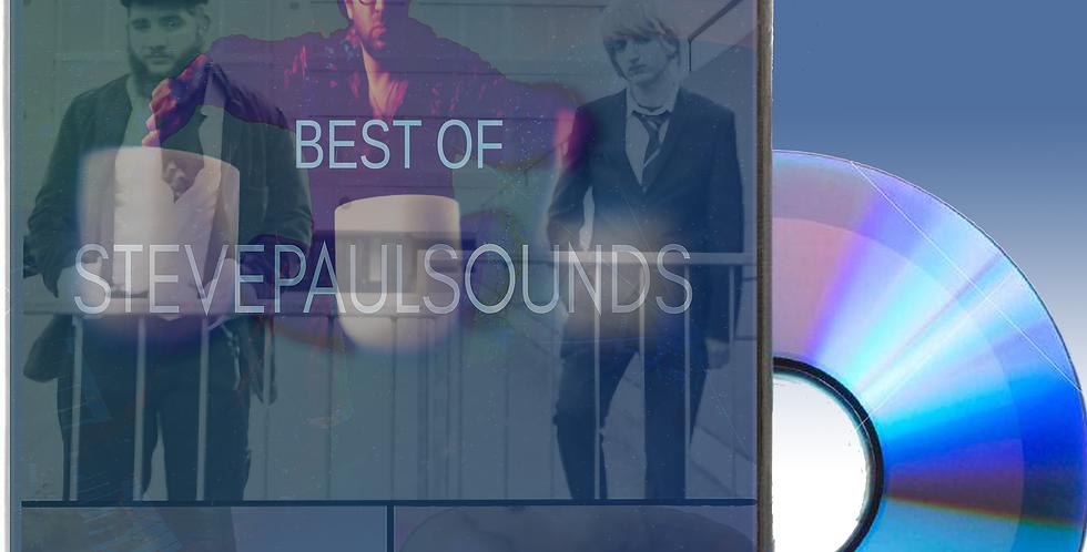 Customizable DVD - Best of Steve Paul Music Videos, Short Films, Animations