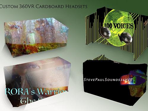 Customized VR Headset Cardboard