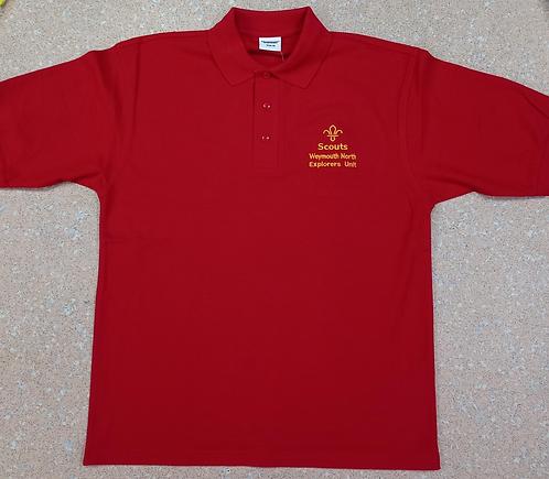 Weymouth North Explorers Unit Adult Polo Shirt