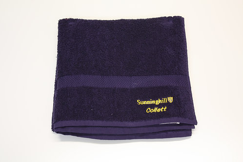 Sunninghill School Towel with Personalised Name