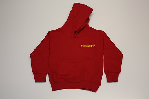 Sunninghill School Hoodie Red or Navy