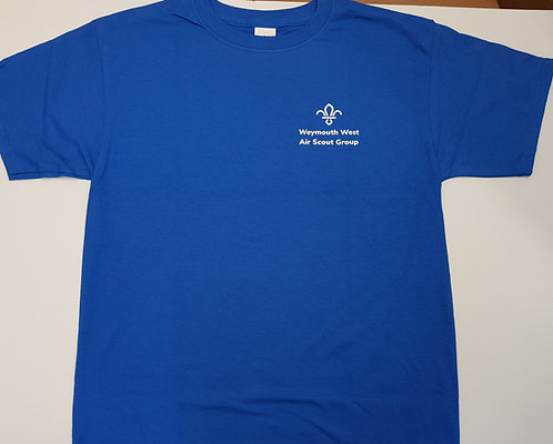 Weymouth West Air Scouts T-shirt